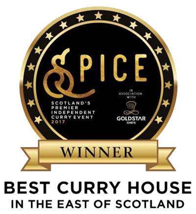 Spice Awards Best Curry House East of Scotland 2017